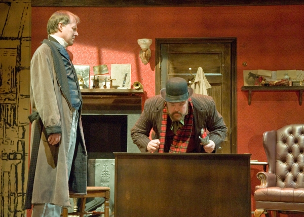 Photo Flash: First Look at Taproot Theatre's SHERLOCK HOLMES AND THE CASE OF THE CHRISTMAS CAROL