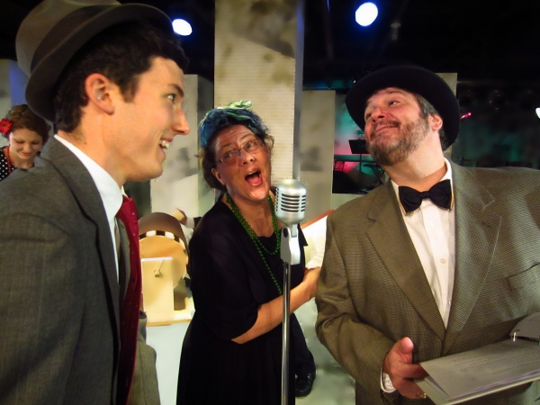 Matt Kline, Laura Stark and Rich Cole