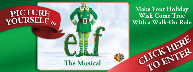 Win a Walk-On Role in Broadway's ELF; Contest Ends Today!
