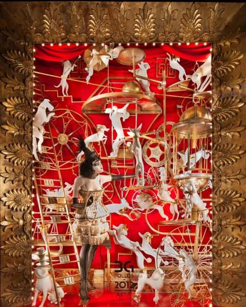 Bergdorf Goodman Unveils the Holiday Windows and the 2012 Holiday Experience