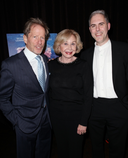 Peter Strauss, Michael Learned & Ian Lithgow