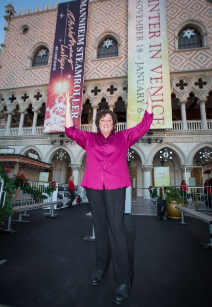 Photo Flash: RECAP - The Venetian and The Palazzo Kick Off WINTER IN VENICE With Gilles Marini, Dot-Marie Jones and Chip Davis! Photos Inside!