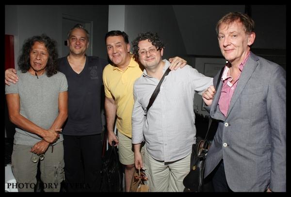Dong Alegre, Geoffrey Garratt, Stephen Brooker, Laurence Connor, Trevor Jackson