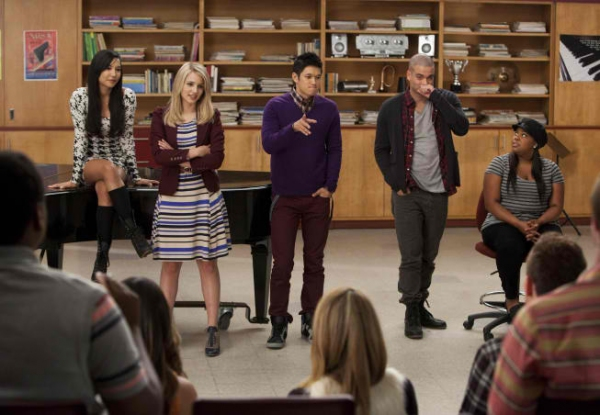 Naya Rivera, Dianna Agron, Harry Shum Jr., Mark Salling, Amber Riley