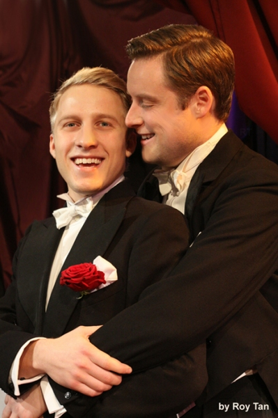 Photo Flash:  First Look at BOY MEETS BOY at Jermyn Street Theatre