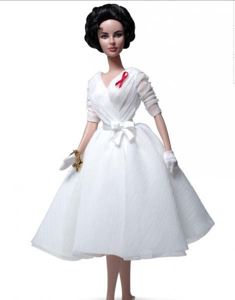 Photo Flash: Mattel Introduces Elizabeth Taylor Barbie Doll