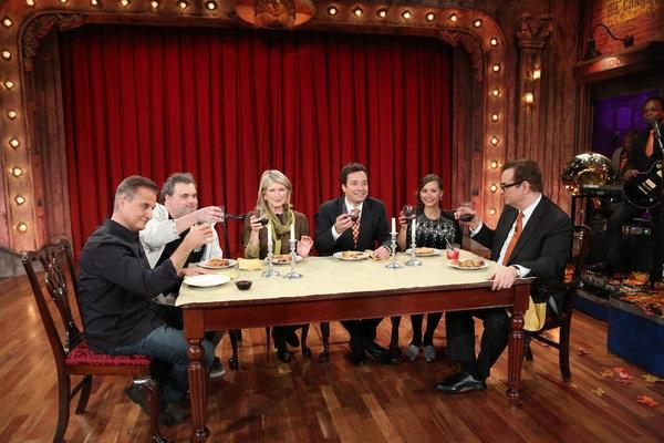 Nick Dipaolo, Artie Lange, Martha Stewart, Jimmy Fallon, Rashida Jones, Steve Higgins
