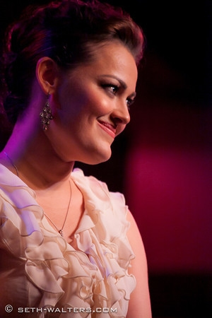 Ashley Brown at Ashley Brown's BROADWAY AT BIRDLAND Debut