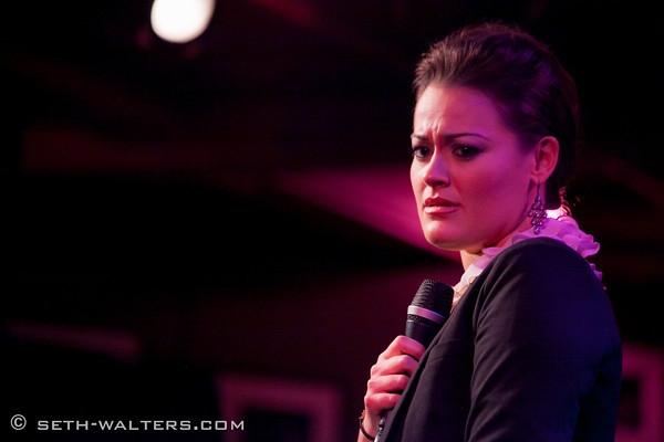 Ashley Brown at Ashley Brown's BROADWAY AT BIRDLAND Debut