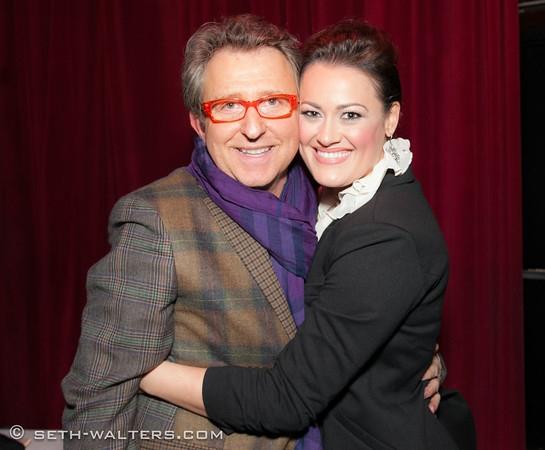 Tom Schumacher and Ashley Brown