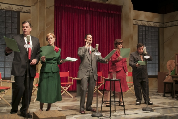 Photo Flash: First Look at WaterTower Theatre's IT'S A WONDERFUL LIFE: LIVE RADIO PLAY, Opening Tonight