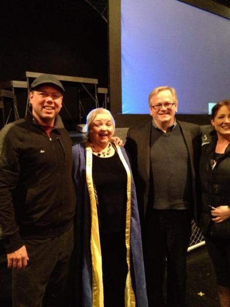 Britt Hancock, Carol Irvin, Jeffrey Ellis and Weslie Webster