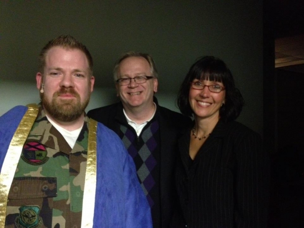 Josh Waldrep,Jeffrey Ellis and Cathy Street