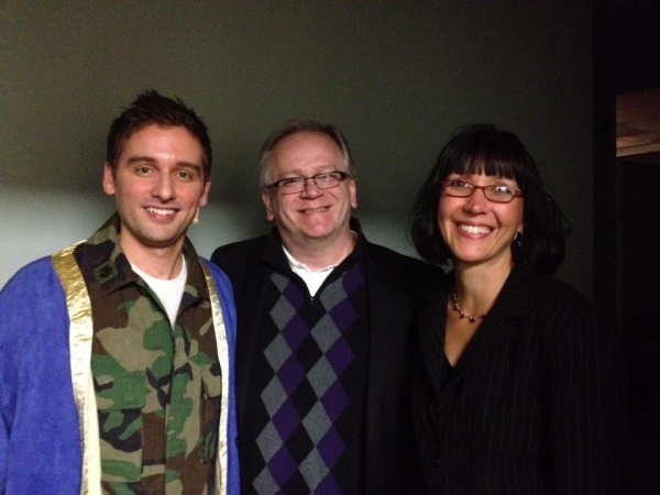 Michael Holder, Jeffrey Ellis and Cathy Street