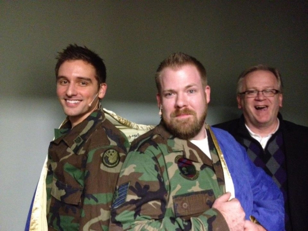 Michael Holder, Josh Waldrep and Jeffrey Ellis