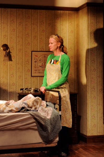 Photo Flash: First Look at Johanna Day and Daniel Gerroll in MISERY at Bucks County Playhouse