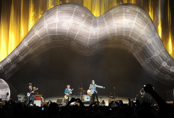 Photo Flash: Rolling Stones Perform at London's O2 Arena