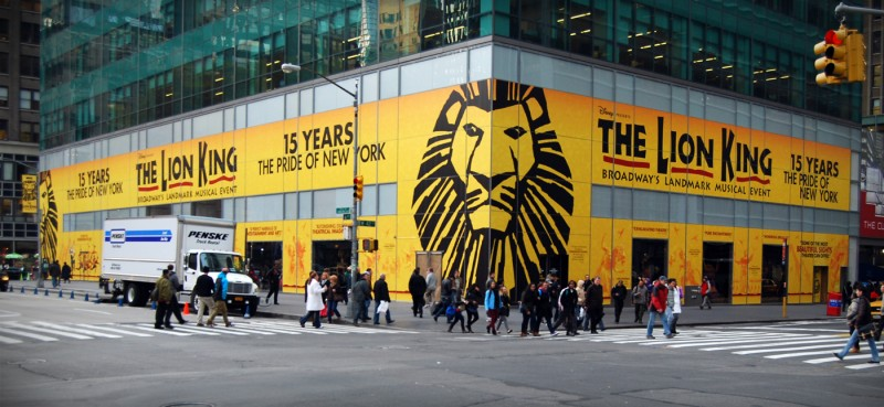 THE LION KING Brings Special Pop-Up Exhibit to Bryant Park, 12/1-16