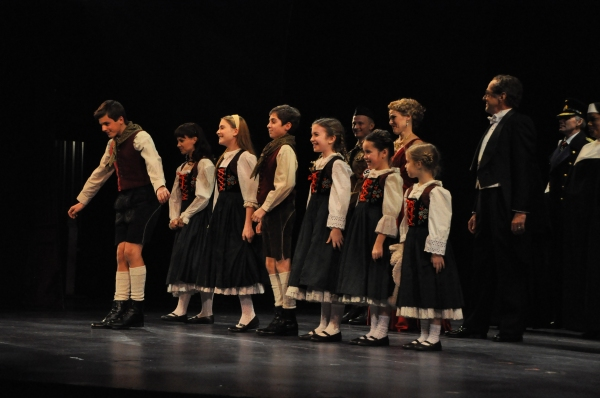 The von Trapp Children-Chelsea Morgan Stock, Sean McManus, Maya Fortgang, Hunter A. Kovacs, Amanda Harris, Gracie Beardsley and Greta Clark