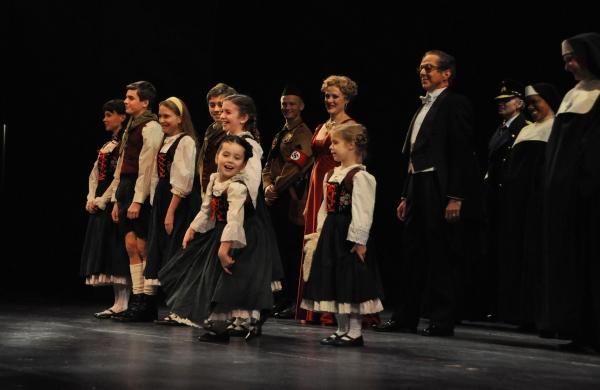 The von Trapp Children-Chelsea Morgan Stock, Sean McManus, Maya Fortgang, Hunter A. Kovacs, Amanda Harris, Gracie Beardsley and Greta Clark