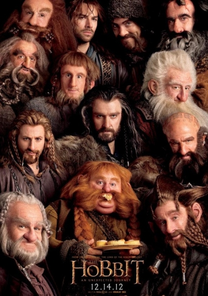 Photo Flash: First Look - New Poster Art for THE HOBBIT