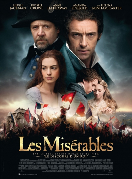 Photo Flash: French LES MISERABLES Movie Poster Released!