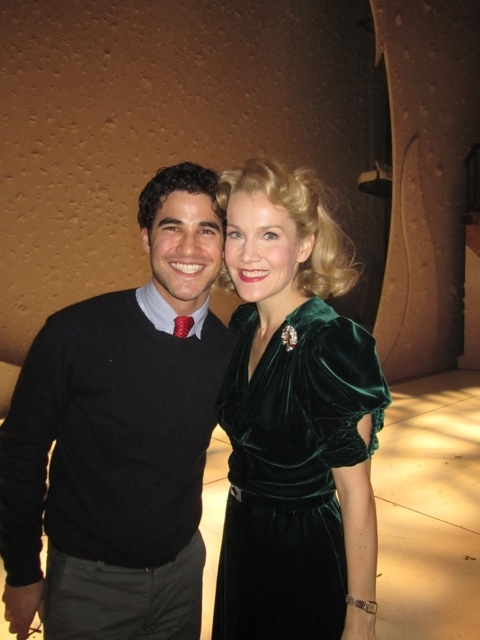 High Res Darren Criss and Erin Dilly