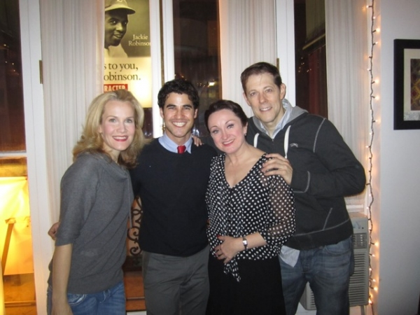 Photo Flash: Darren Criss Visits A CHRISTMAS STORY!