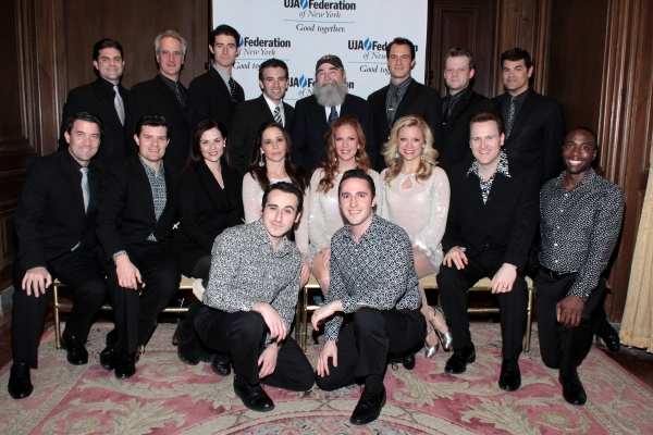 Michael David and the cast of Jersey Boys