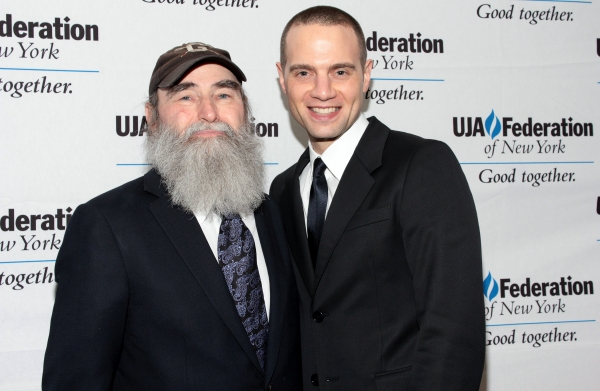 Michael David, Jordan Roth at Broadway Producer Michael David Honored by UJA