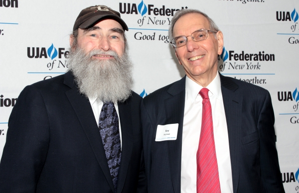 Michael David, Roy Furman at Broadway Producer Michael David Honored by UJA