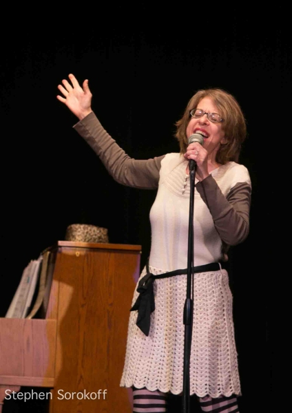Jackie Hoffman at Jackie Hoffman, Tony Sheldon, and More Take Part in Actors Temple Benefit