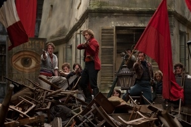 Aaron Tveit at First Look - Aaron Tveit as 'Enjolras' in LES MIS