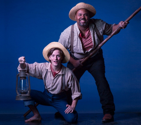 Photo Flash: Sneak Peek at Alex Goley and James Monroe Iglehart in TheatreWorks' BIG RIVER
