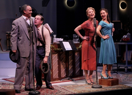 Photo Flash: First Look at Marin Theatre's IT'S A WONDERFUL LIFE: A LIVE RADIO PLAY