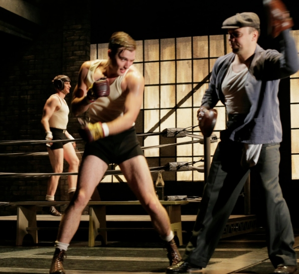 Photo Flash: First Look at Danny Burstein and More in GOLDEN BOY