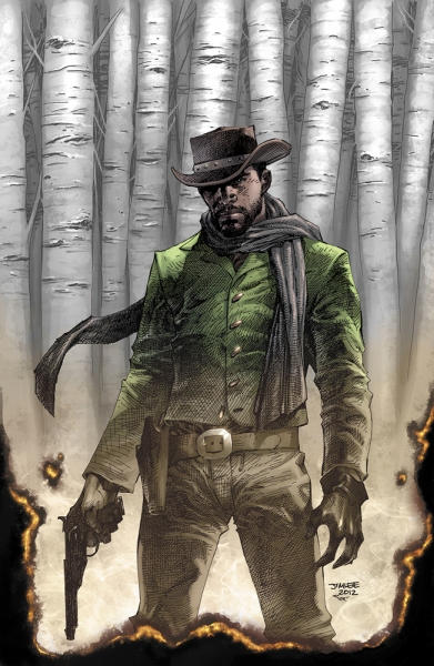 Photo Flash: Preview of DJANGO UNCHAINED Mini-Series Comic Book