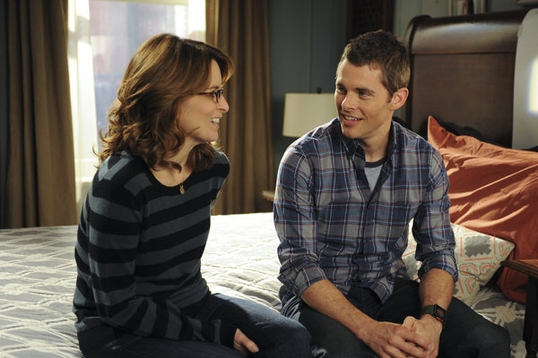 Tina Fey, James Marsden at First Look - 30 ROCK's 'Mazel Tov, Dummies!' Airing 11/29