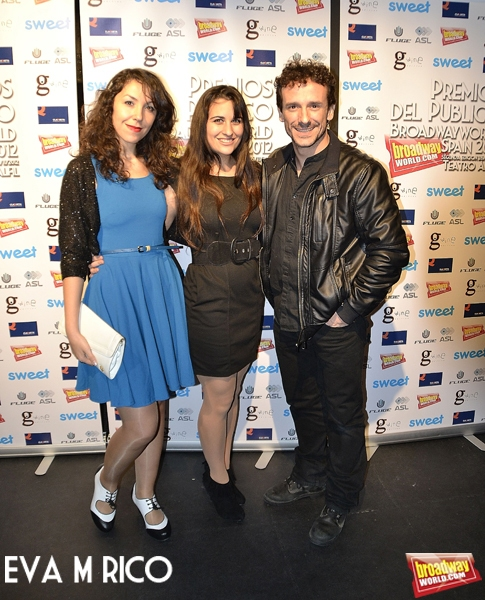 Ana Carril, Nuria Sanchez y Victor Ullate