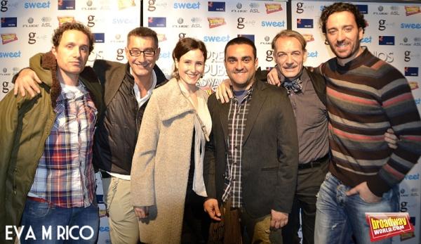 Carlos Alzueta, Javier Naval, Yanina Carchak, Antonio Albella y Pablo Puyol