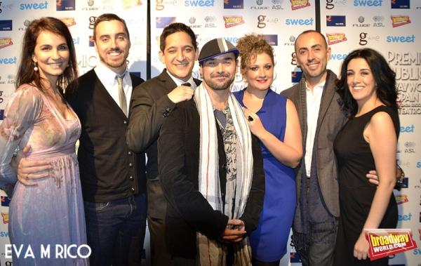 El equipo de Macabaret: Sonia Dorado, Jose Masegosa, Mario Quintero, Alberto Sanchez, Photo