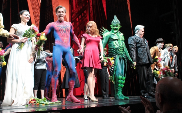 Photo Coverage: SPIDER-MAN Cast Celebrates 2 Years on Broadway!