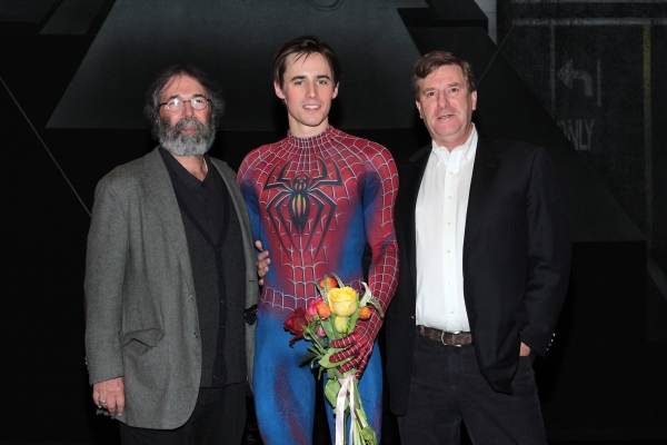 Michael Cohl, Reeve Carney, Jeremiah Harris