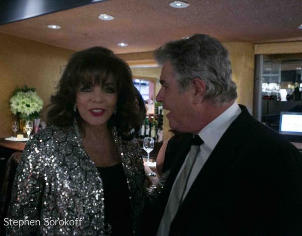 Joan Collins & Steve Tyrell