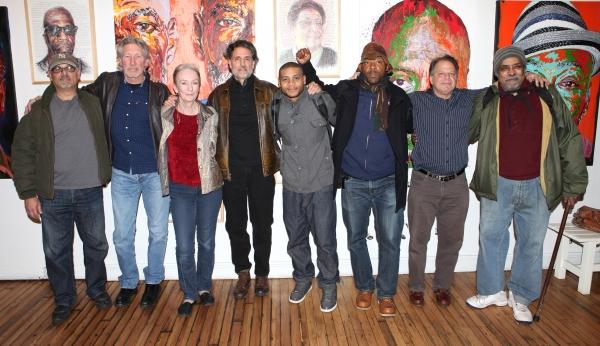 Bruce Kronenberg, Roger Waters, Kathleen Chalfant, Chris Sarandon, JD Williams, Curti Photo