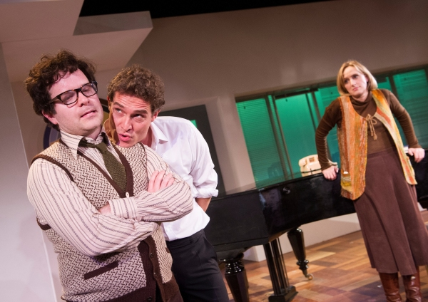 First Look: Umbers, Humbley, Gabrielle And Strallen In MERRILY WE ROLL ALONG!