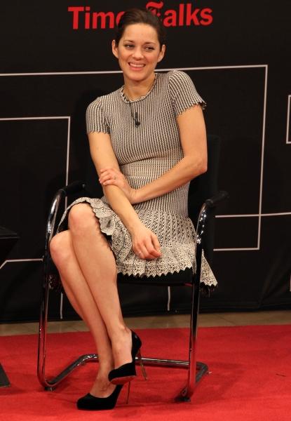 Photo Coverage: Marion Cotillard Visits TIMESTALKS!