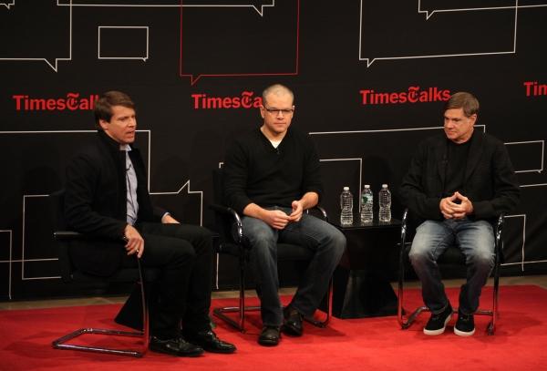 Moderator v with Matt Damon & Gus Van Sant