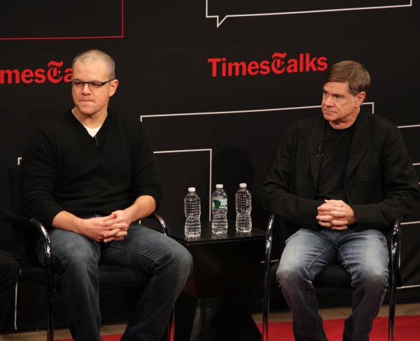 Matt Damon & Gus Van Sant