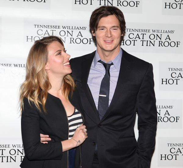 Scarlett Johansson & Benjamin Walker at CAT ON A HOT TIN ROOF'S Benjamin Walker, Scarlett Johansson and More Meet the Press